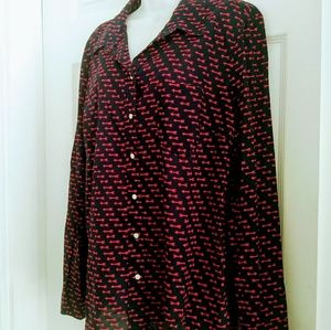 Gap blouse long sleeves Size XL